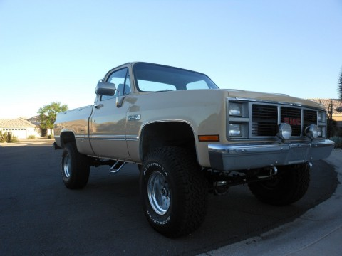 1983 GMC Sierra K1500 4×4 SIERRA for sale
