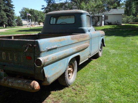 1959 Chevrolet LWB Fleetside Pickup for sale