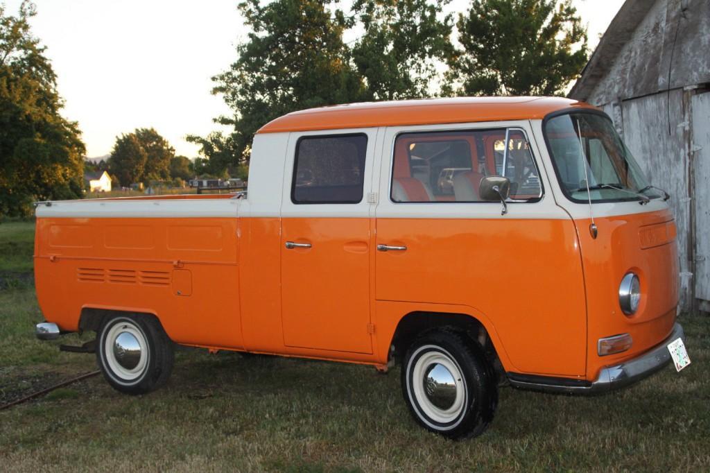 1968 Volkswagen Bus Vanagon Trasporter Pickup For Sale