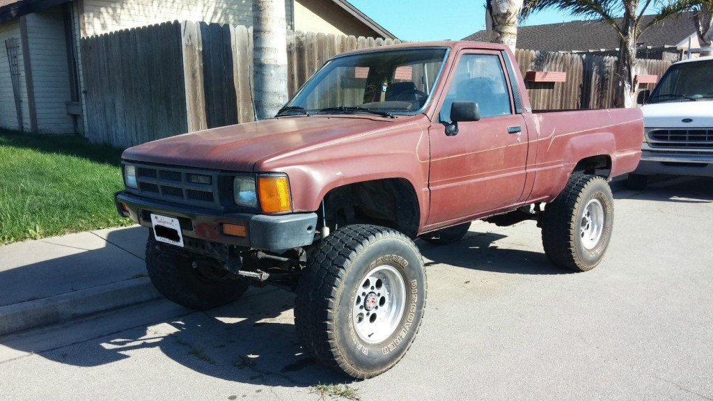 Toyota Pickups For Sale X on 2 Inch Body Lift Toyota Pickup