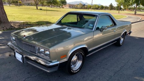 1985 Chevrolet El Camino Classic Green Hornet for sale