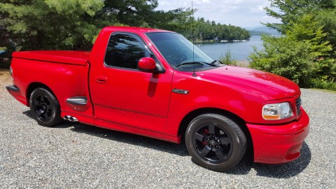 2002 Ford F 150 Lightning Standard Cab Pickup 2 Door 5.4L for sale