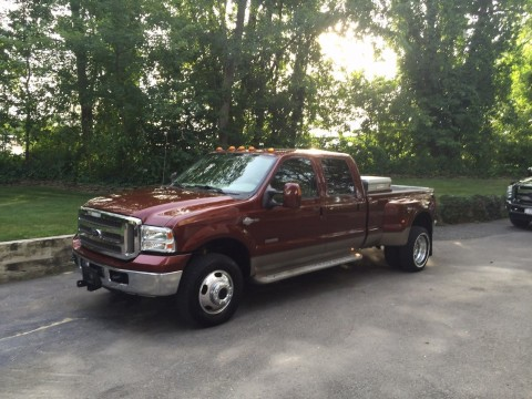 2005 Ford F 350 king Ranch dually for sale