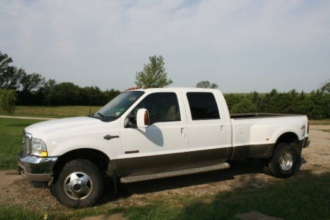 2003 Ford F 350 KING RANCH Dually for sale