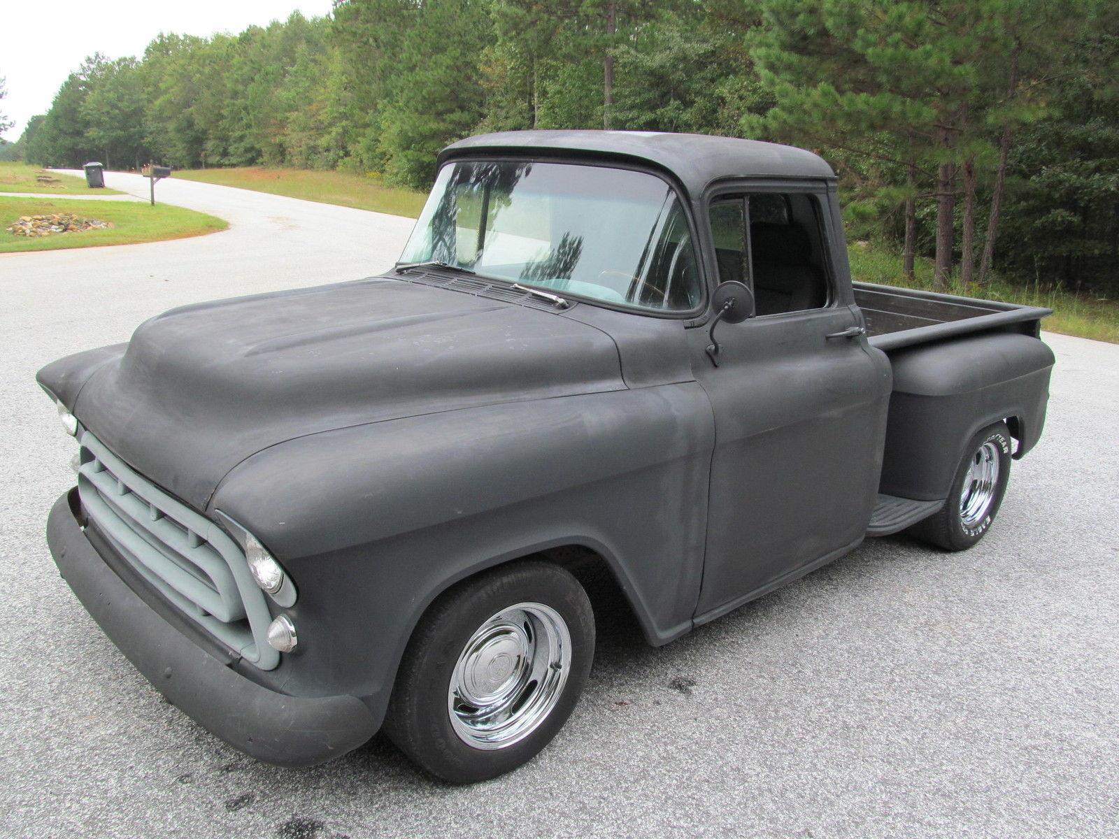 1957 chevrolet 3100 shortbed truck for sale. Black Bedroom Furniture Sets. Home Design Ideas