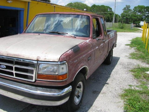 1993 Project Ford F 150 XLT Lariat Extended Cab Pickup 2 Door 5.8 for sale