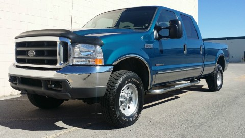 2000 Ford F 250 CREW 4X4 XLT 6 Speed Manual 7.3L Powerstroke for sale