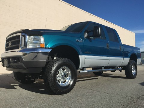 2002 Ford F 250 CREW XLT 4X4 for sale