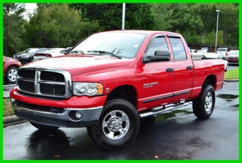2005 Dodge Ram 2500 4dr Quad Cab 140.5″ WB 4WD SLT for sale