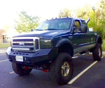 2005 Ford F 250 Super Duty Lariat Crew Cab Pickup 4 Door 6.0L for sale
