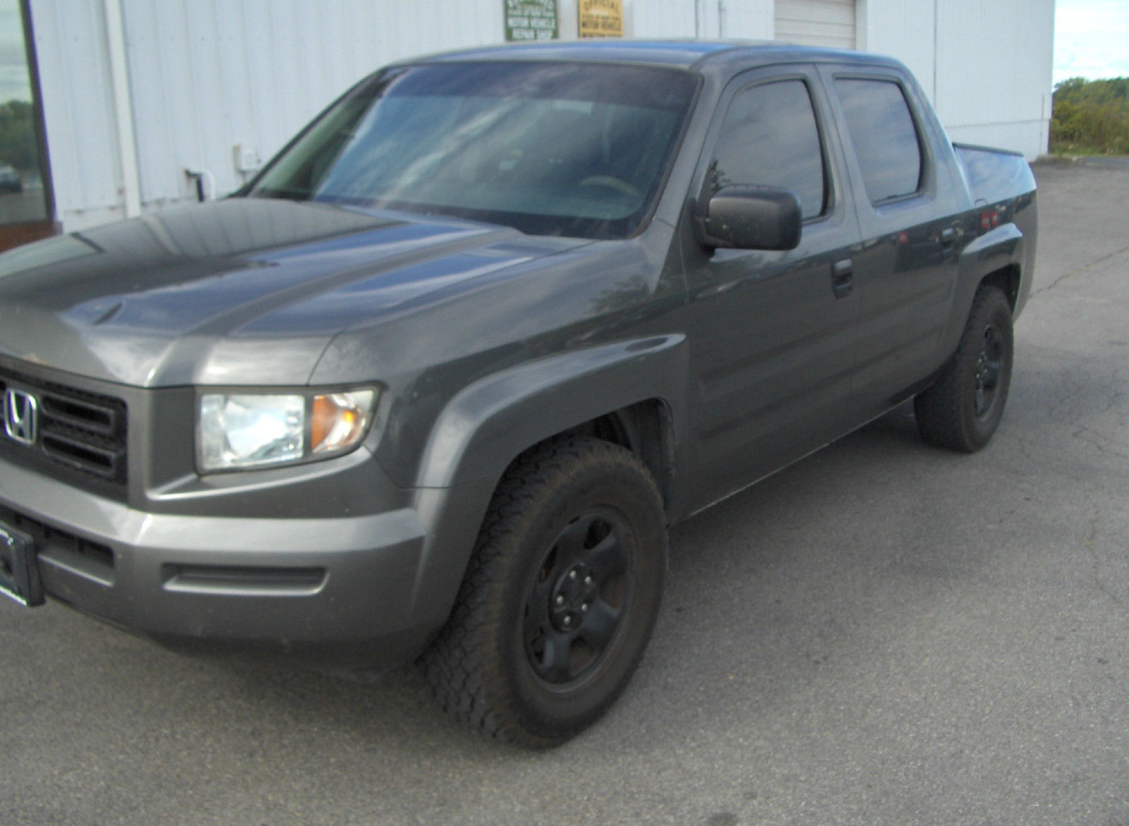 2007 honda ridgeline rt crew cab pickup 4 door 3 5l for sale. Black Bedroom Furniture Sets. Home Design Ideas