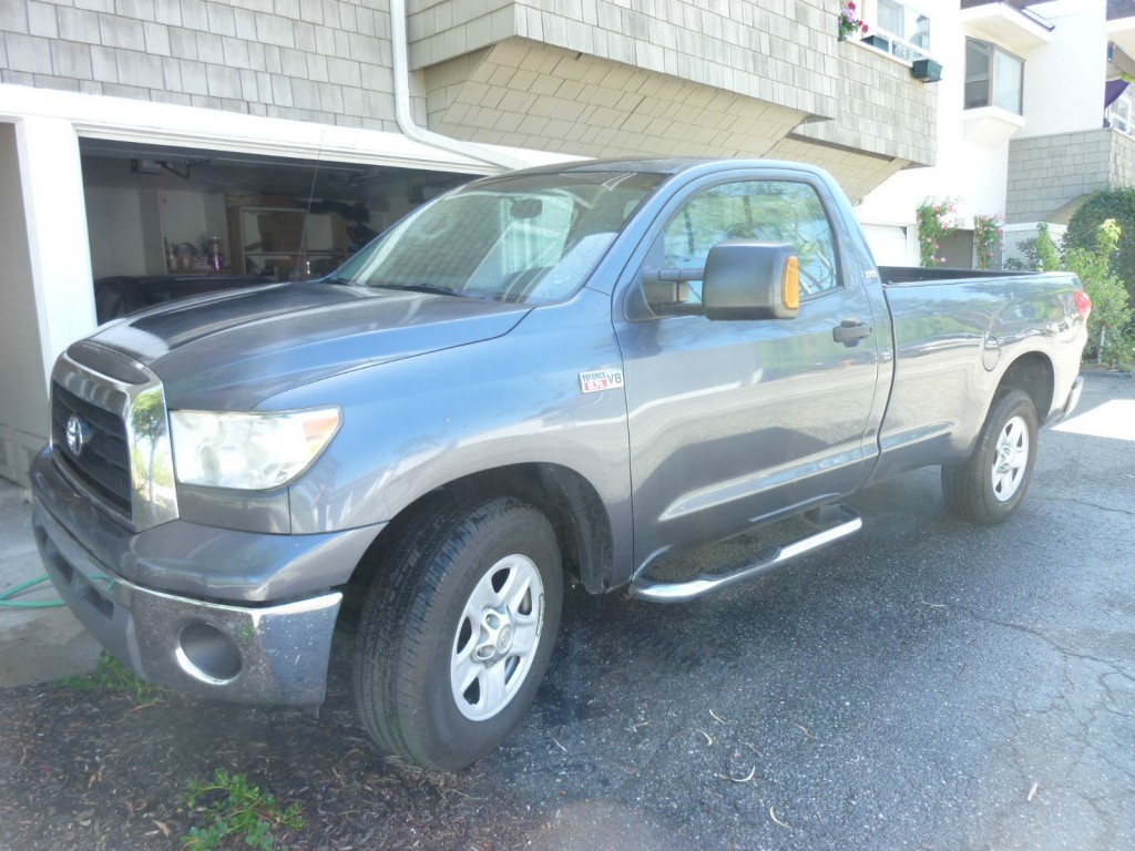 2007 toyota tundra sr5 standard cab pickup 2 door v8 5 7l for sale. Black Bedroom Furniture Sets. Home Design Ideas