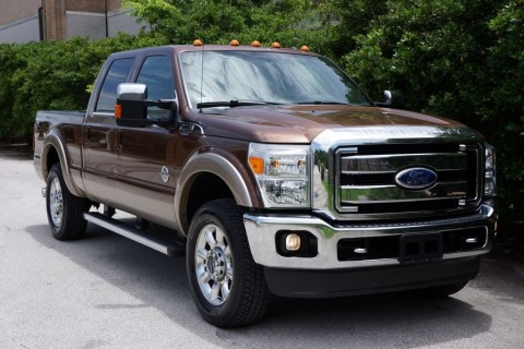 2011 Ford F 250 Unlimited Lariat, 4X4, Navigation, Roof for sale