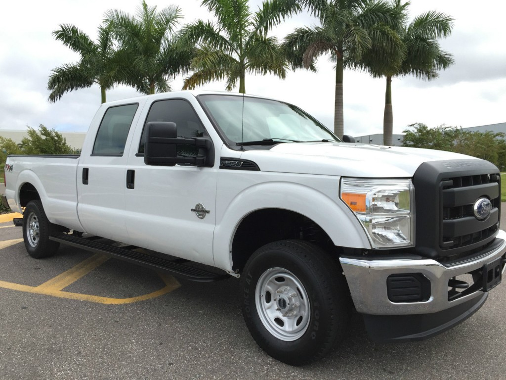 Ford Tremor For Sale >> 2012 Ford F 250 4X4 CREW CAB Longbed 6.7 Liter Turbo DIESEL for sale