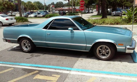 1985 Chevrolet El Camino Conquista Standard Cab Pickup 2 Door 5.0L for sale