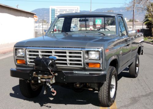 Ford Tonka Truck >> 1986 Ford F 250 4×4, California Truck for sale