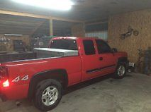 2005 Chevy Silverado 1500 4×4 ,4 door Extended cab,5.3 for sale