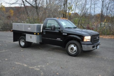 2006 Ford F 350 Flatbed Dually for sale