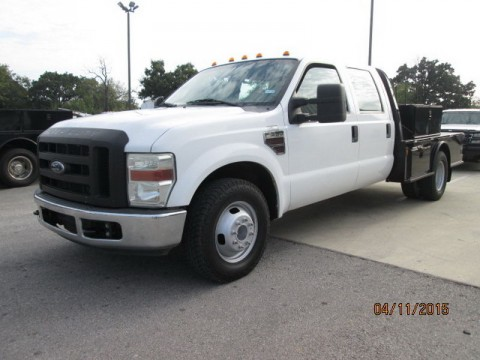 2008 Ford F 350 Super Duty XL Crew Cab Pickup 4 Door 6.4L for sale