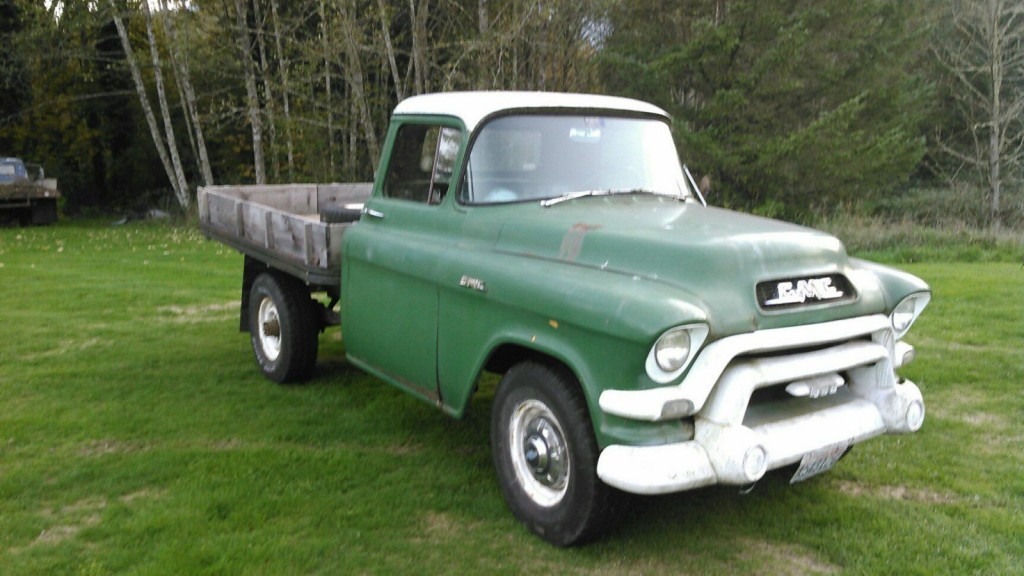 1956 gmc 3 4 ton flatbed for sale. Black Bedroom Furniture Sets. Home Design Ideas