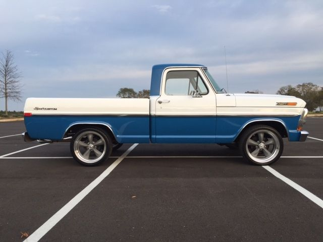 1971 Ford F100 Sport Custom For Sale