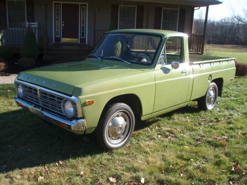 1974 ford courier pickup true survivor for sale. Black Bedroom Furniture Sets. Home Design Ideas
