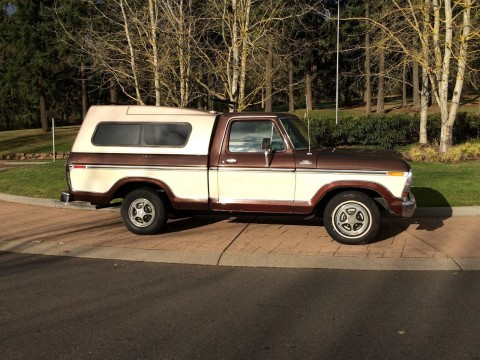 1979 Ford F100 Ranger Short Bed for sale