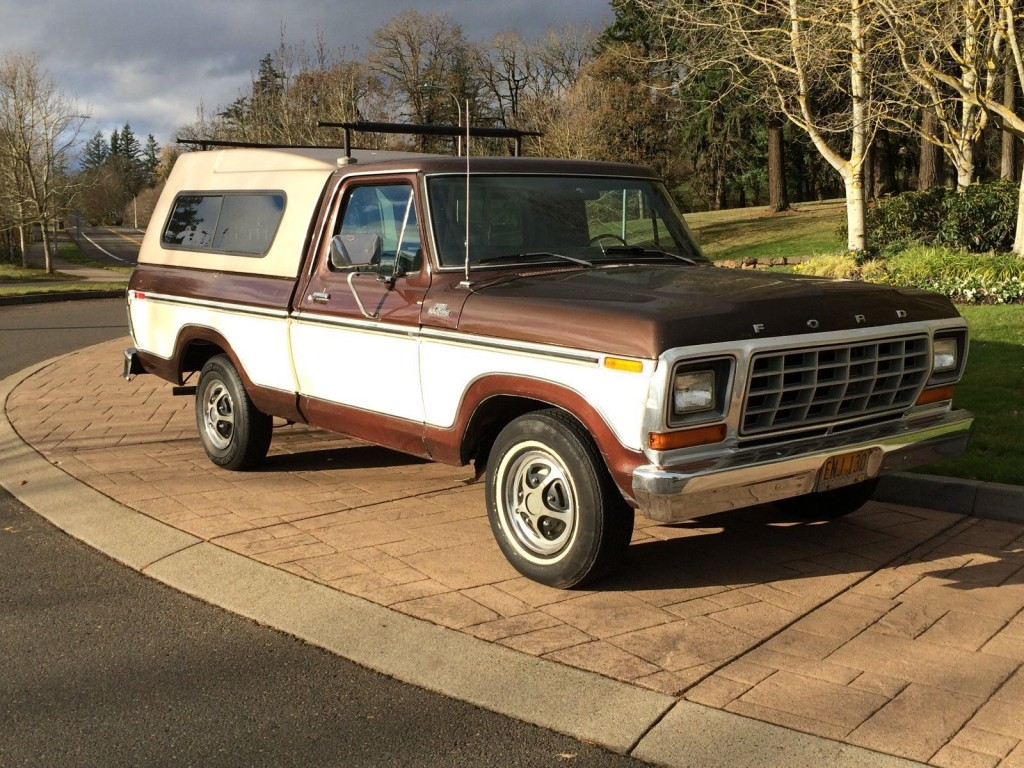 1979 Ford F100 Ranger Short Bed For Sale