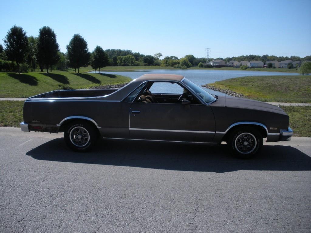 1984 GMC Caballero Amarillo for sale