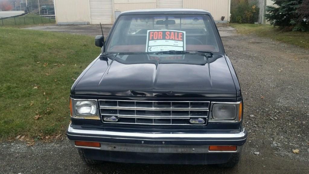 1985 chevrolet s 10 4 4 laredo pickup for sale. Black Bedroom Furniture Sets. Home Design Ideas