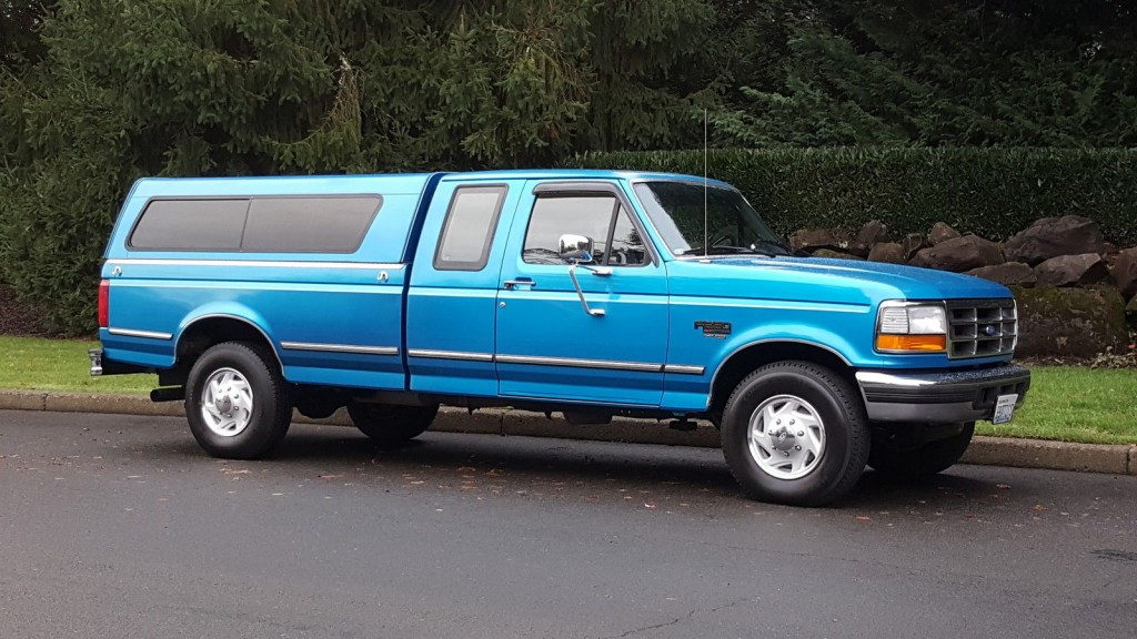 1995 Ford F 250 XLT 2 Wheel Drive Extra cab Powerstroke Diesel 5spd