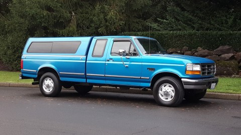 1995 Ford F 250 XLT 2 Wheel Drive Extra cab Powerstroke Diesel 5spd for sale