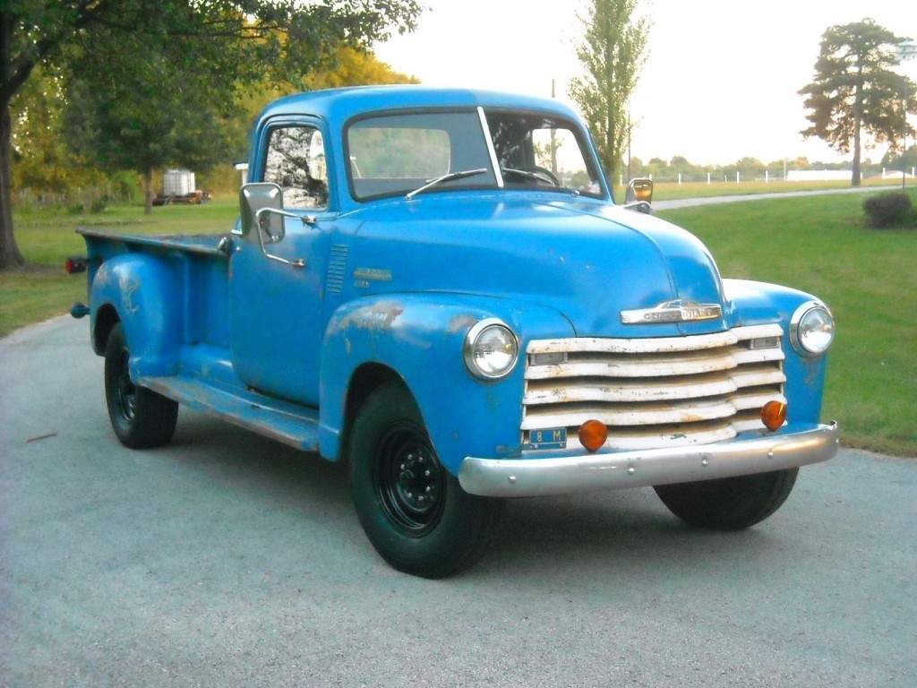 1949 chevrolet pickup 12 volt one ton for sale. Black Bedroom Furniture Sets. Home Design Ideas