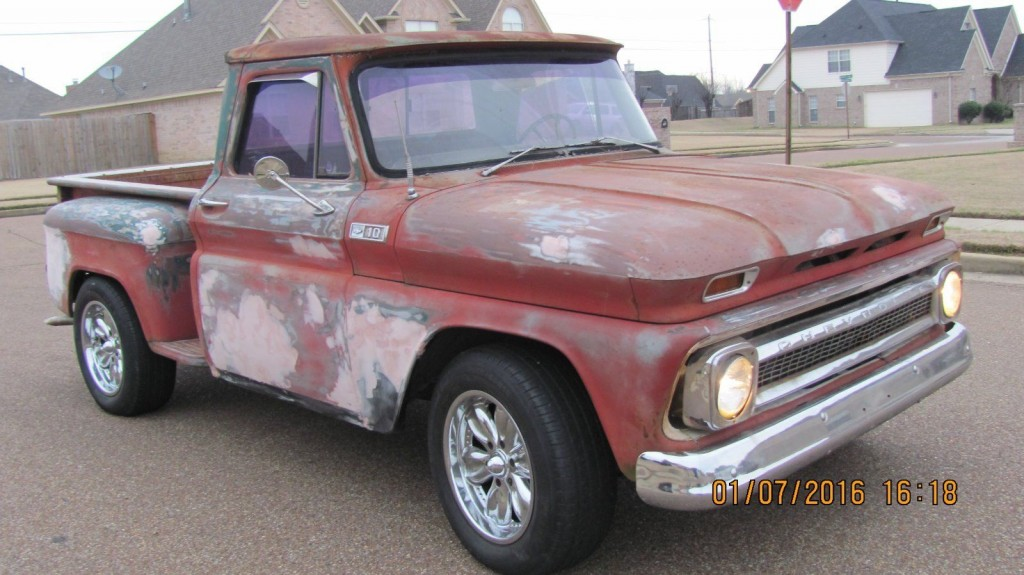 Chevy C10 Pickup For Sale up for sale is a super solid 1965 chevy c10 stepside with a very ...