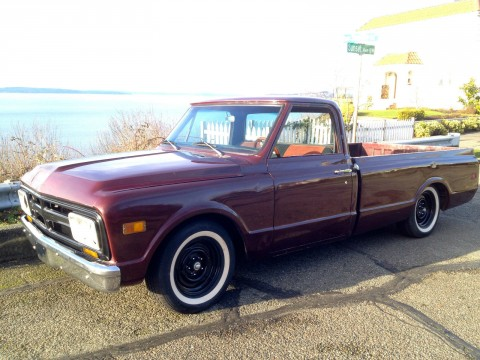 1968 GMC C 10 Lowered BB Custom pick-up truck for sale