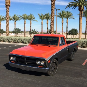 1971 GMC C 10 Pickup SWB 2wd Restomod Chevrolet EFI A/C OD for sale