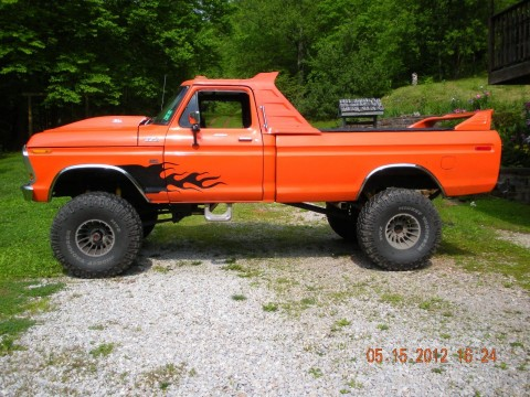 1978 1/2 ford f 150 4×4 truck custom for sale