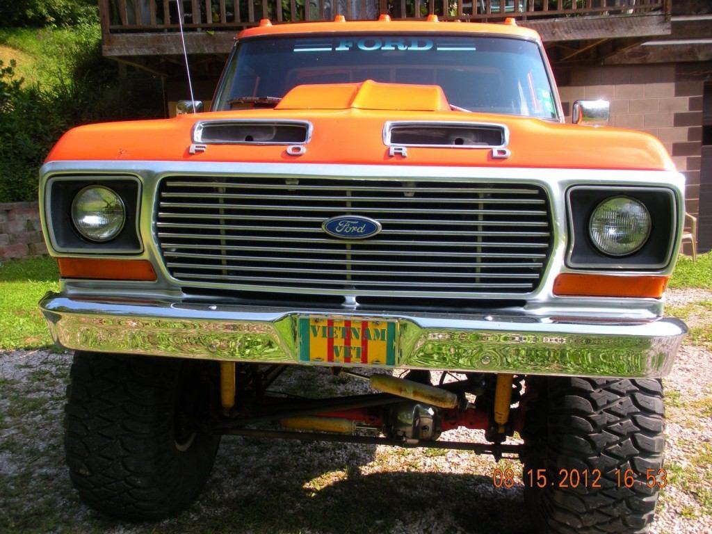 1978 1 2 ford f 150 4 4 truck custom for sale. Black Bedroom Furniture Sets. Home Design Ideas