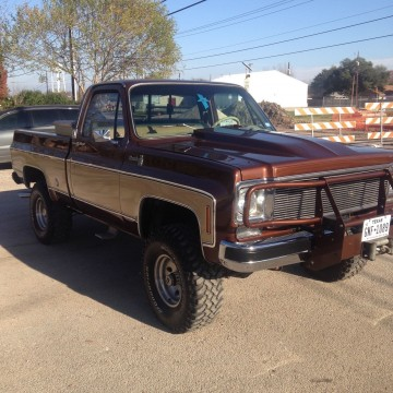 1978 Chevy C10 4×4 for sale