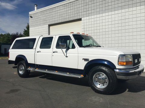 1996 FORD F250 CREW Shortbed 7.3 Powerstroke Turbo DIESEL for sale