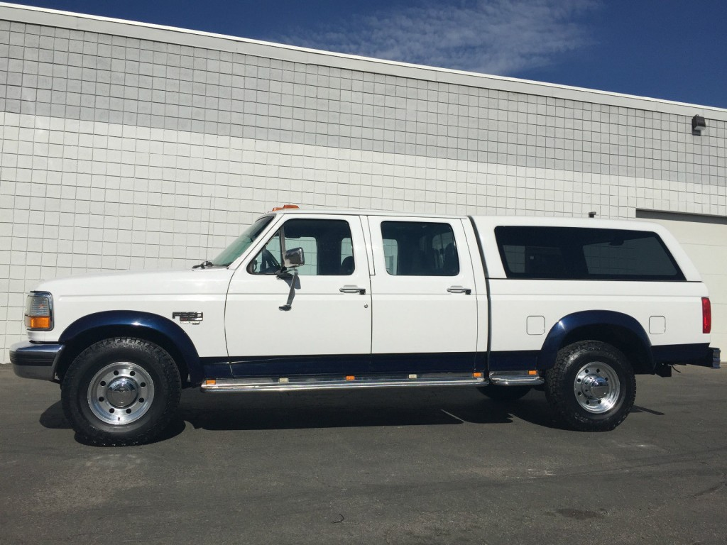1996 ford f250 crew shortbed 7 3 powerstroke turbo diesel for sale. Black Bedroom Furniture Sets. Home Design Ideas