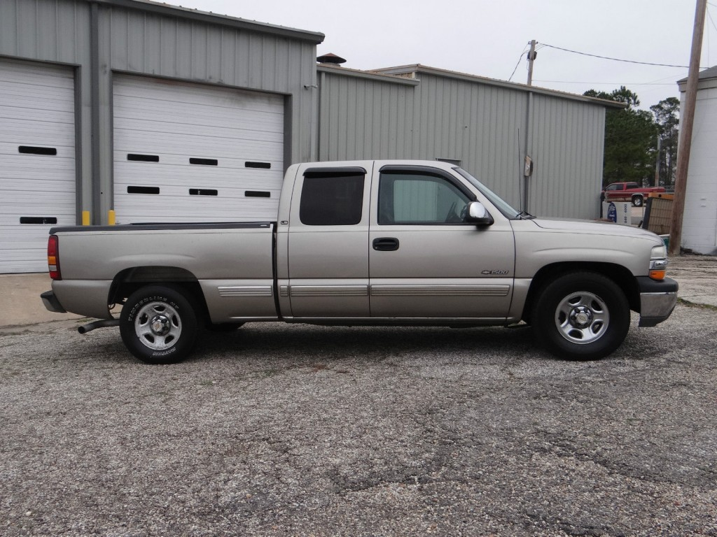 2001 chevrolet silverado 1500 ls extended cab 5 3l for sale. Black Bedroom Furniture Sets. Home Design Ideas