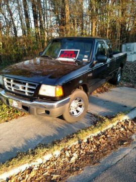 2002 FORD Ranger XLT for sale