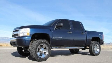 2007 Chevrolet Silverado 1500 4×4 Lifted for sale