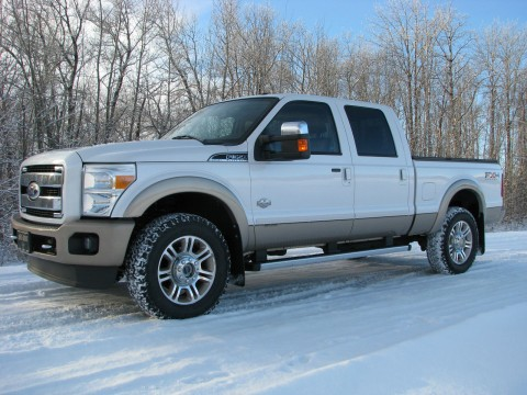 2011 Ford F 350 Short box Super Duty King Ranch Crew Cab Pickup for sale