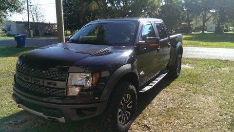 2012 Ford F 150 SVT Raptor Crew Cab Pickup 4 Door 6.2L for sale