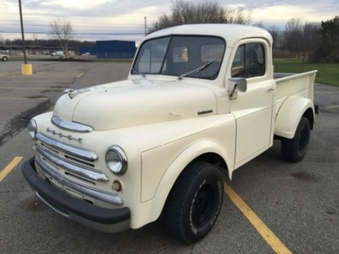 Rare 1953 Dodge B Series Pilot House Cab 5 Window 4×4 Pickup Truck for sale