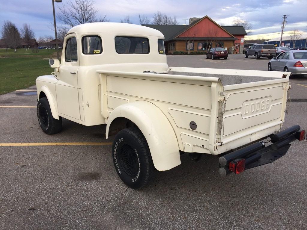 Rare 1953 Dodge B Series Pilot House Cab 5 Window 4 215 4