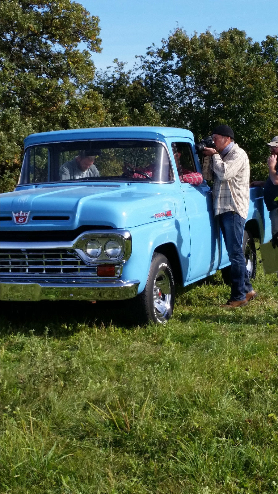 1960 Ford F 100 Pick Up Truck For Sale