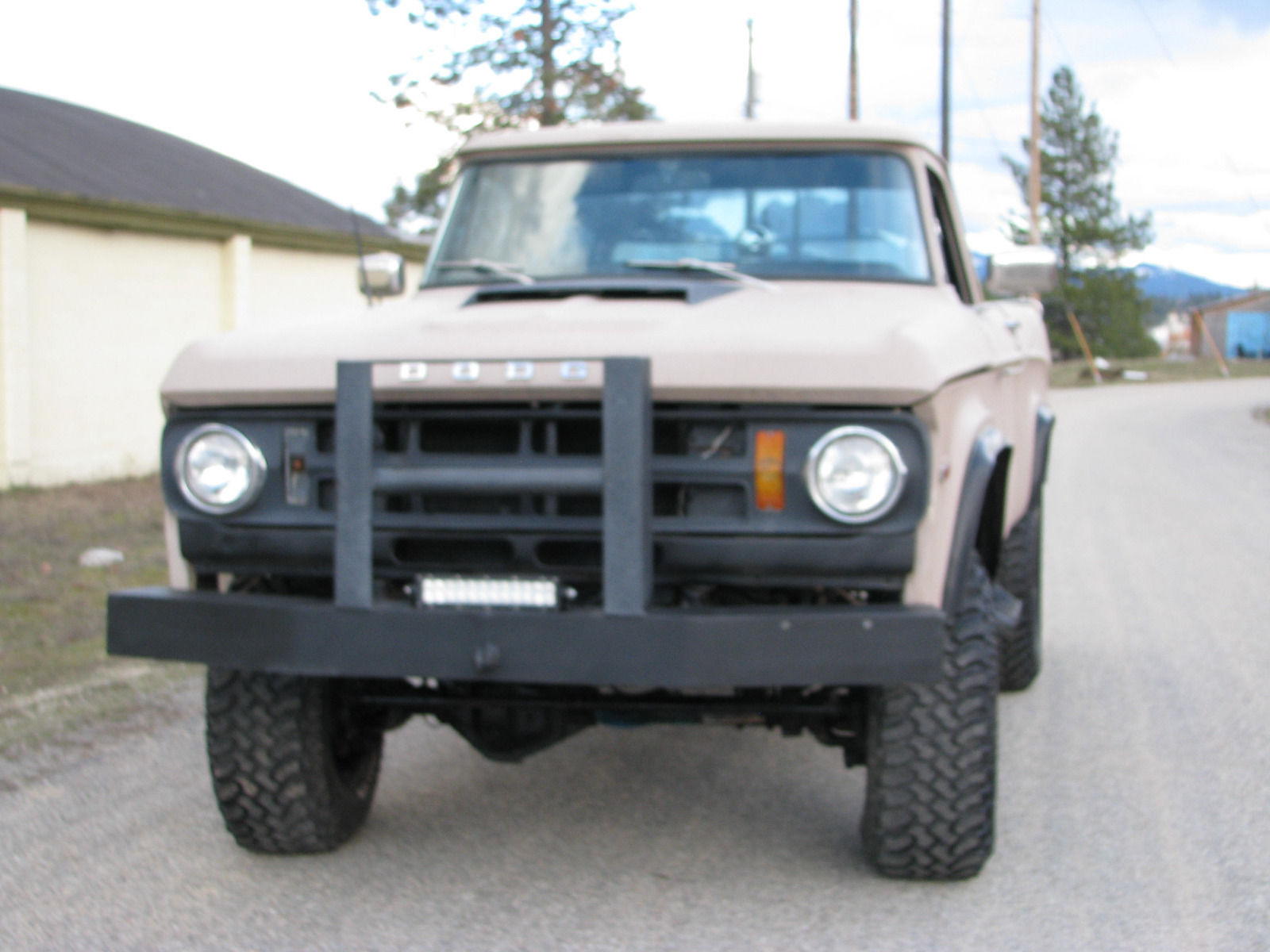 1971 dodge power wagon for sale for Motorized wagon for sale